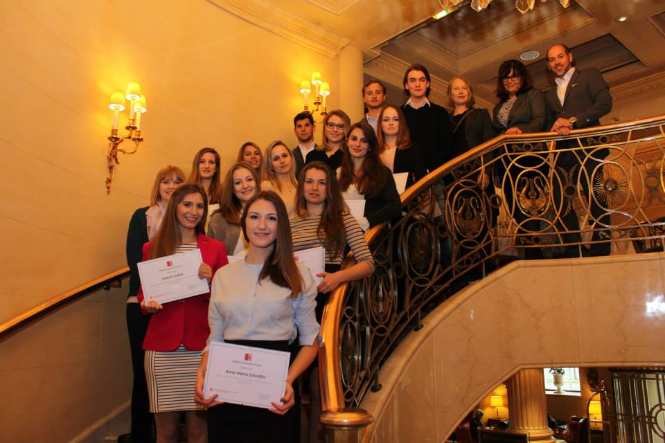 Top Bachelor Students im Grand Hotel Wien